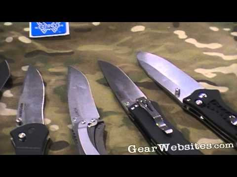 Benchmade Blade Steels