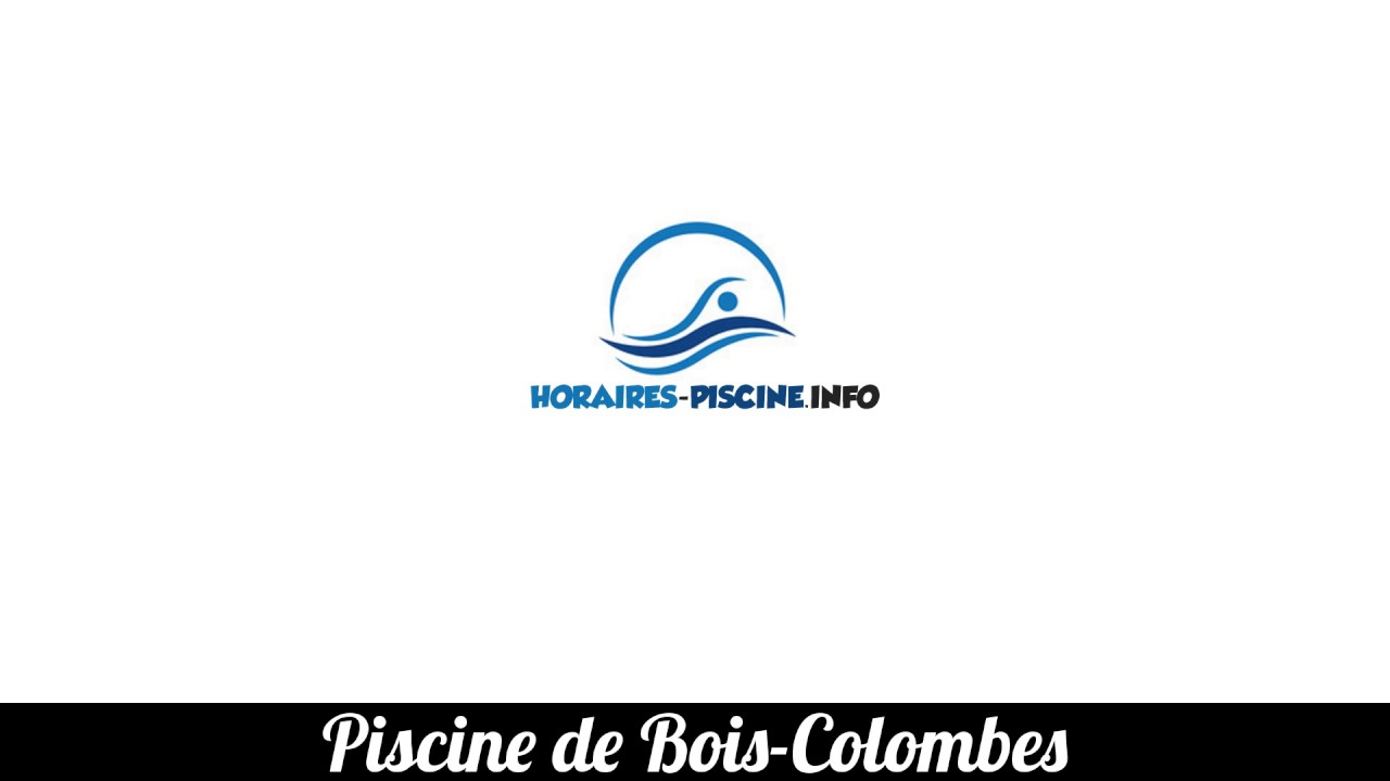 Piscine De Bois Colombes Youtube