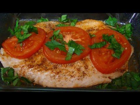Тилапия овощами рецепт фото