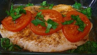 Готовим рыбу в духовке - Тилапия - Моя кухня