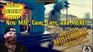 BRAND NEW! MAP, GUNS, Vehicles on TEST SERVER Live GAMEPLAY w. Chrises-Face Games