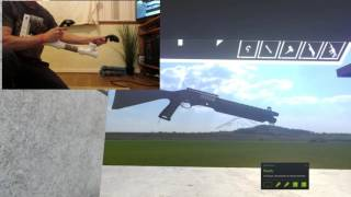 Pump action demonstration with Battle Edition Noobtube