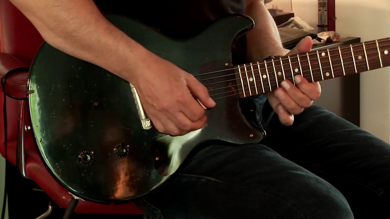 2017 Gibson Les Paul Cc 19 Junior Ltd Ed Dave Hinson Part2 Youtube