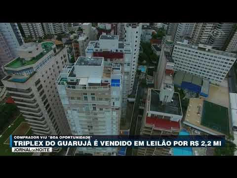 Tríplex Do Guarujá é Vendido Em Leilão Por R$ 2,2 Milhões