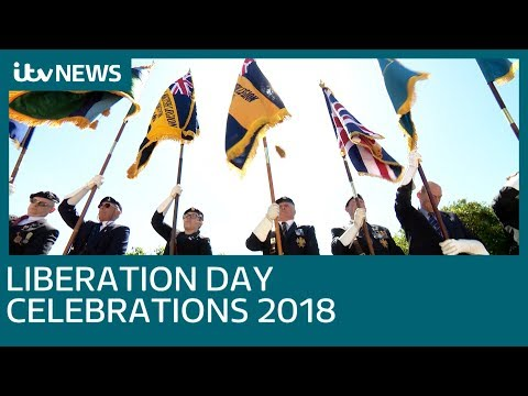 Jersey and Guernsey celebrate Liberation Day 2018 | ITV News