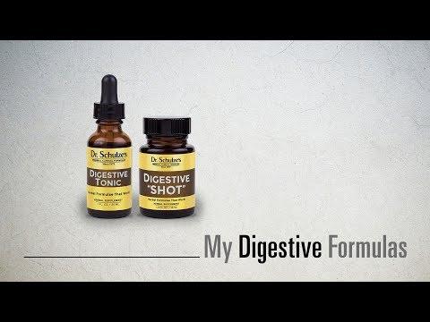 My Digestive Formulas by Dr. Schulze