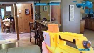Nerf War - First Person Shooter: Halo & COD Style!