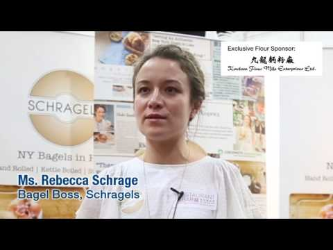 Chef Rebecca Schrage comments on flour from Kowloon Flour Mills