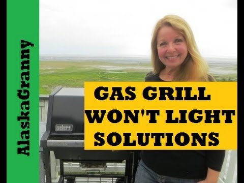 Weber Gas Grill Won't Light Solutions