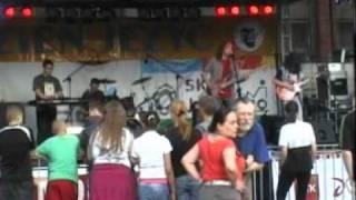 Infekcja Blues - Rock Band - Kominiarz Johnny -  Live Dni Jeżyc.mpg