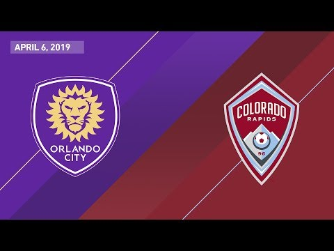 Orlando City SC vs. Colorado Rapids | HIGHLIGHTS - April 6, 2019