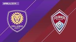Orlando City SC vs. Colorado Rapids | HIGHLIGHTS - April 6, 2019