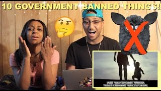 Couple Reacts : 10 Unusual Things Banned by The Government Reaction!!
