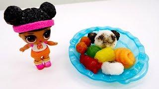DIY c Лол. Японские вкусняшки из порошка. Сладкая панда.