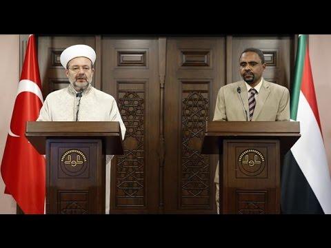Sudan İrşad ve Vakıflar Bakanı Mirgani'den Diyanet İşleri Başkanı Prof. Dr. Mehmet Görmez'e ziyaret…