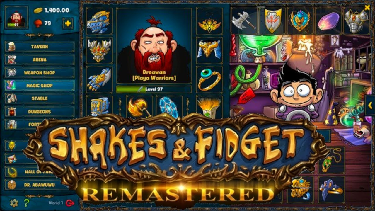 Shakes And Fidget Welt 4