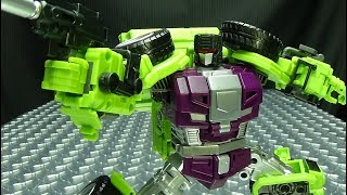 JinBao KO Upscaled Generation Toy Scraper (Scrapper): EmGo's Transformers Reviews N' Stuff