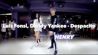 亨利 Henry Lyrical Choreography @ Luis Fonsi, Daddy Yankee - Despacito  / Henry Choreography 20170607