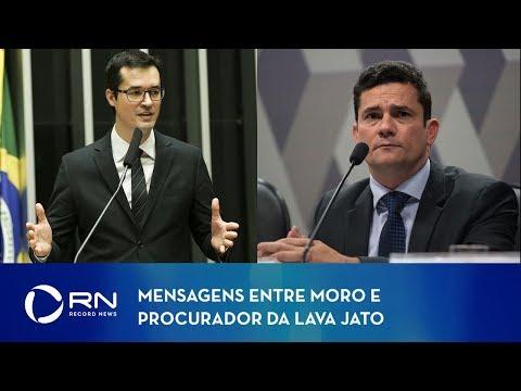 Site divulga mensagens entre Moro e procurador da Lava Jato
