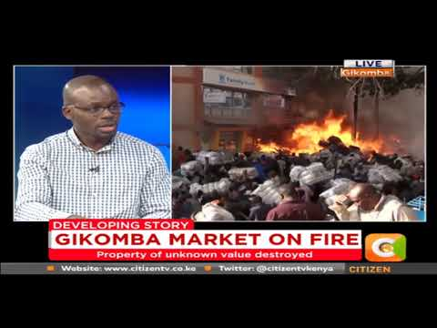 Citizen News: Gikomba Market On Fire
