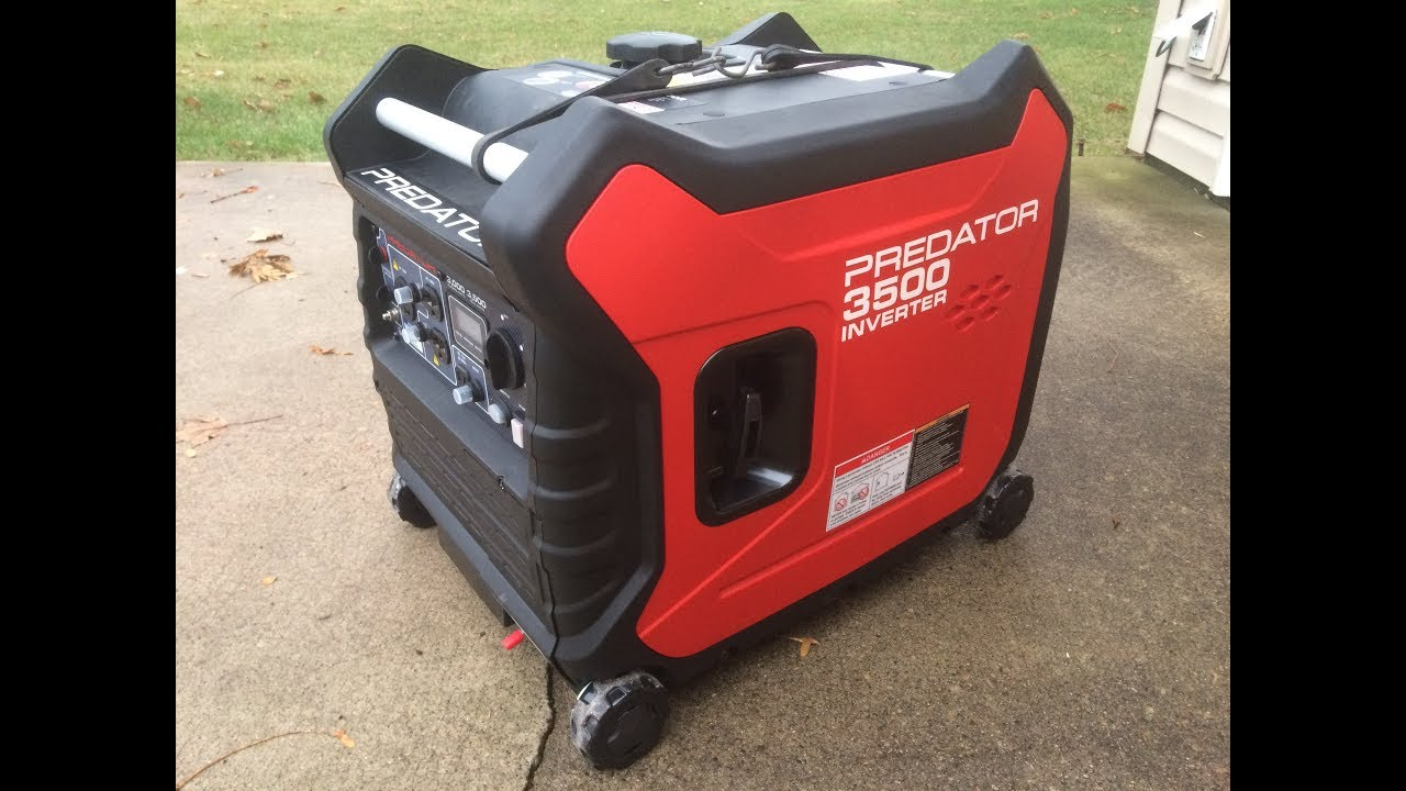 Just Purchased The Predator 3500 Watt Inverter From Har ...