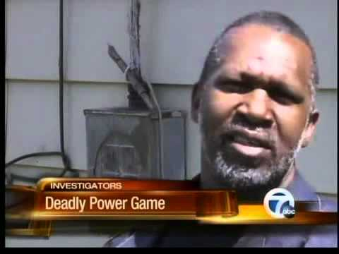 Electricity thieves stealing power in Detroit
