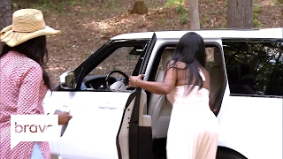 RHOA: Kenya Moore Storms Out on Cynthia Bailey (Season 9, Episode 12) | Bravo
