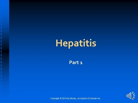 Lecture On Hepatitis   Part 1