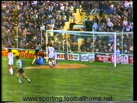 18J :: Farense - 1 x Sporting - 1 de 1984/1985
