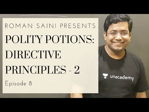 Polity Potions - Directive Principles of State Policy Part 2 - Episode 8