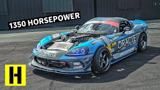Fifth Gear Burnouts in a 1350hp Dodge Viper!?