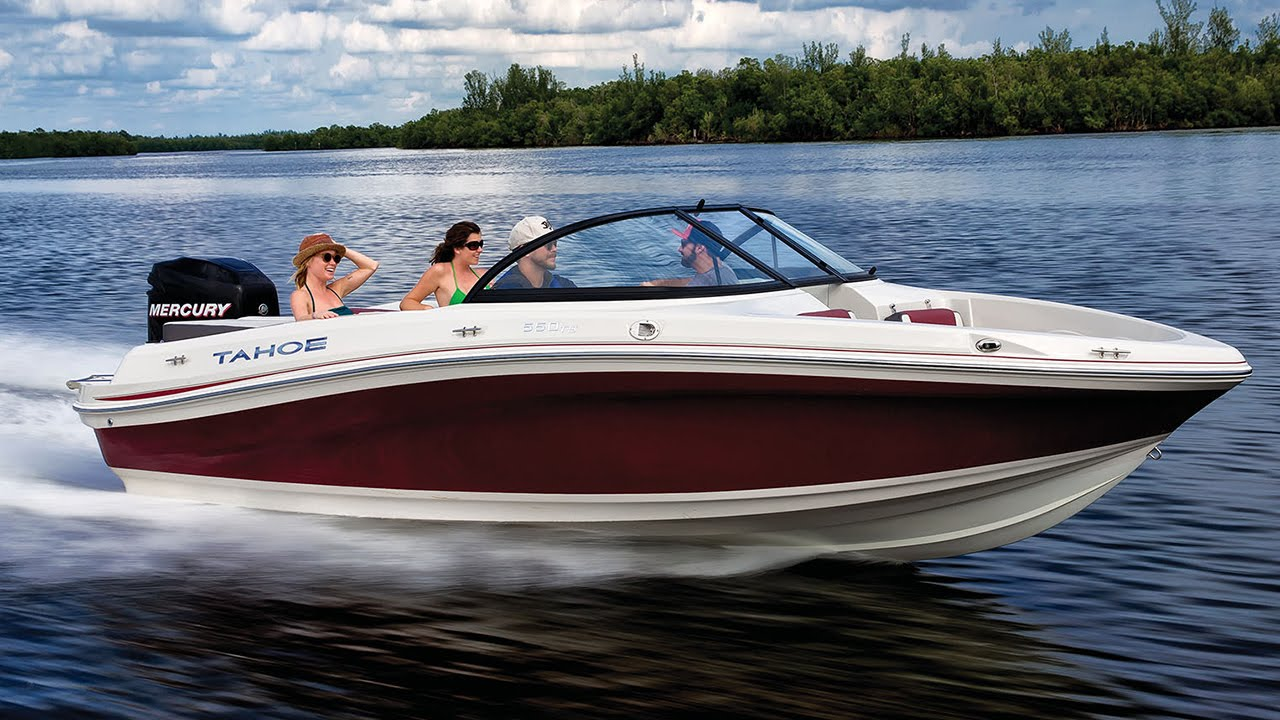 TAHOE Boats 2016 500 TS Sterndrive And 550 Outboard Runabouts