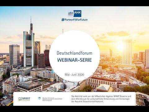 Deutschlandforum 2020   WEBINAR: Market Entry Germany   Bjarne Brynk Jensen, Brynk Business Academy