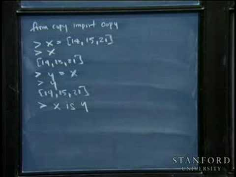 Lecture 25 | Programming Paradigms (Stanford)