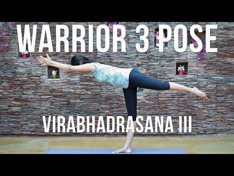 How to do Warrior 3 Pose Virabhadrasana III