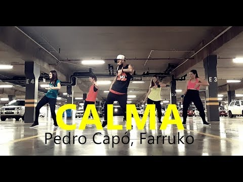 CALMA - Pedro Capó Farruko  Zumba  Coreografia  Cia Art Dance