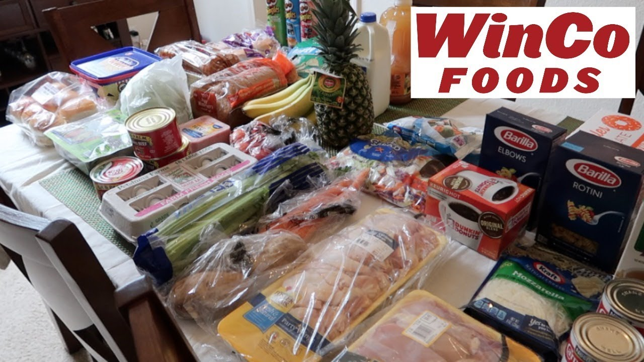 WINCO + SEAFOOD CITY GROCERY HAUL - May 20, 2018