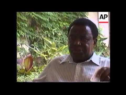 REVEREND NDABANINGI SITHOLE INTERVIEW