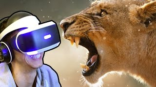 LION ENCOUNTER!!! - Virry VR - Playstation VR | Ep1