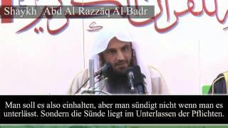 Shaykh 'Abd Al Razzaq Al Badr | Das Witr-Gebet