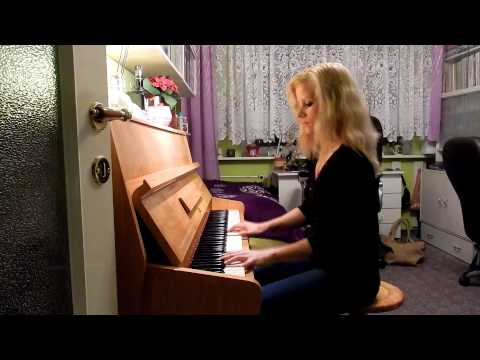 Nickelback - Rockstar (piano cover by Katerina Zakova)
