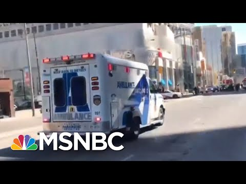 Multiple Pedestrians Hit By Van In Toronto, Driver In Custody | MSNBC