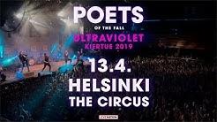 Poets of the Fall - Ultraviolet-kiertue Kevät 2019