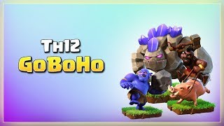 Golem+Bowler+Hogs= Th12 Best GoBoHo attacks | TH12 War Strategy #38 | COC 2018 |