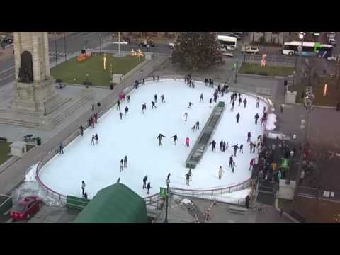 Justin - Clinton Square Ice Skating Rink Is Now Open For The Season!