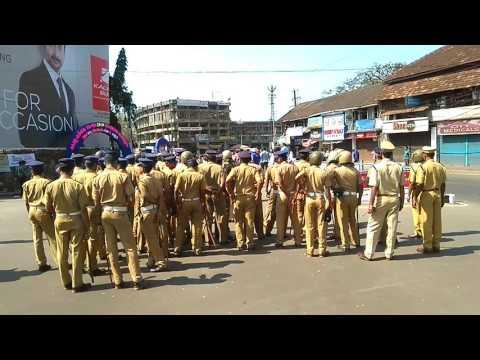57th Kerala State School Kalolsavam - A big Salute to the Police