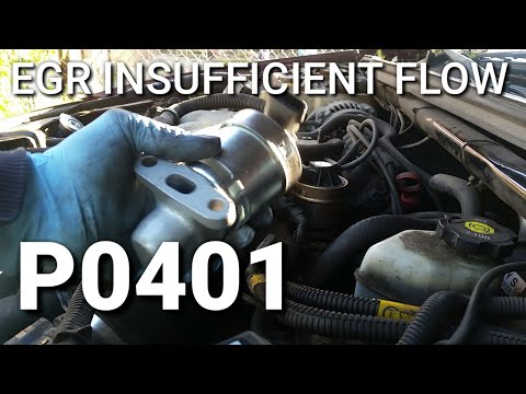 P0401 egr insufficient flow