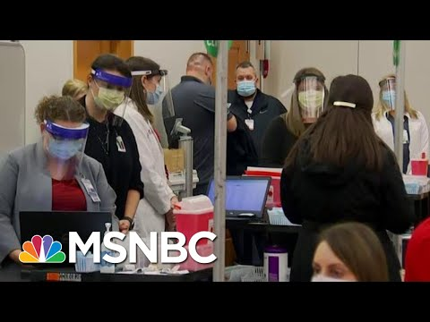 Vaccine Is Not A Substitute For Standard Public Health Measures Of Wearing A Mask   Hallie Jackson