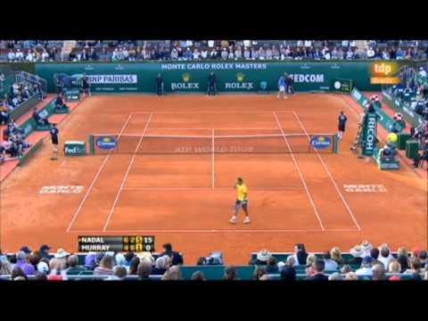 Rafa Nadal vs. Andy Murray, 6-4, 2-6 y 6-1 semifinal de Monte-Carlo