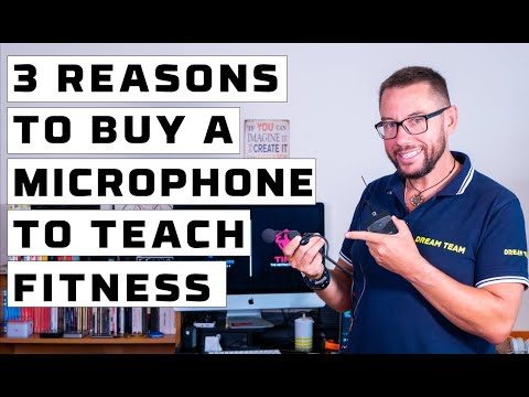 Top 3 reasons why you should buy a headset mic to teach fitness classes (2 of 3)